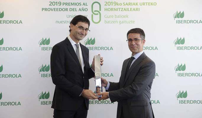 AOC Proyectos premiada por Iberdrola por su compromiso con la prevención de riesgos laborales