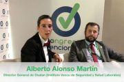 Entrevista al D. Alberto Alonso Martín,en el «Chester» del Congreso Prevencionar