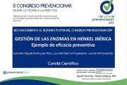 2º Clasificado en el Concurso de POSTERS del II Congreso Prevencionar: Henkel Ibérica