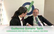 Entrevista al Dr. Guillermo Soriano Tarín en el «Chester» del Congreso Prevencionar