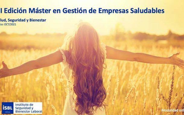 III Edición Máster Gestión Empresas Saludables - Inicio 14 de Octubre