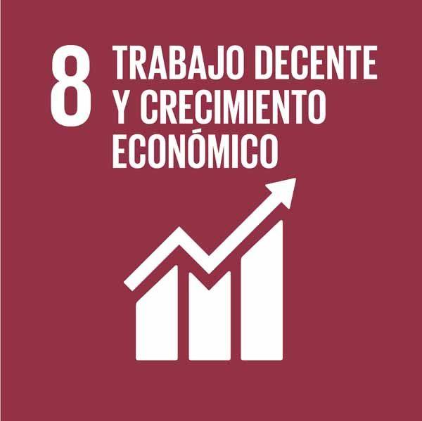 ODS 8: Promover el crecimiento económico inclusivo y sostenible, el empleo y el trabajo decente para todos