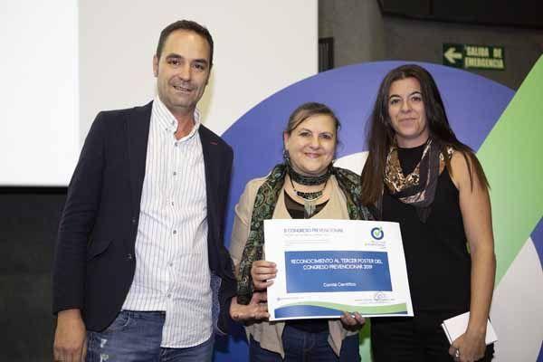 3ER Clasificado en el Concurso de POSTERS del II Congreso Prevencionar: Instituto Asturiano de Prevención de Riesgos Laborales