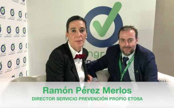 Entrevista a D. Ramón Pérez Merlos en el «Chester» del Congreso Prevencionar