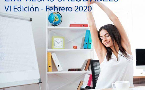 VI Edición Curso Experto en Gestión de Empresas Saludables - Comienzo 12 Febrero - 2 Últimas Plazas -
