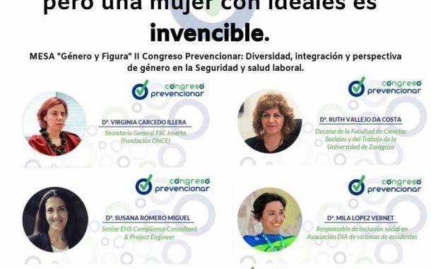 Género y figura: Diversidad, integración y perspectiva de género en la seguridad y salud laboral