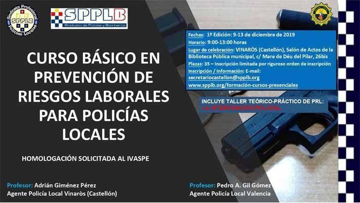 """""""LA FORMACION BÁSICA EN PREVENCIÓN DE RIESGOS LABORALES DE LAS POLICÍAS LOCALES: UNA ASIGNATURA PENDIENTE"""""""