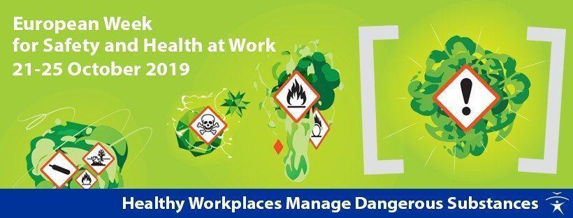 Arranca la Semana Europea para la Seguridad y la Salud en el Trabajo 2019