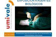 Guía para evitar la transmisión de enfermedades infecciosas por exposición a agentes biológicos
