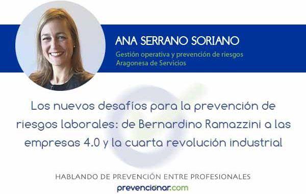 De Bernardino Ramazzini a las empresas 4.0 y la cuarta revolución industrial