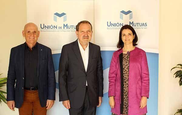 El director general de Trabajo y Bienestar Laboral de la Generalitat Valenciana y Unión de Mutuas abordan los retos de la prevención, la salud y el bienestar laboral