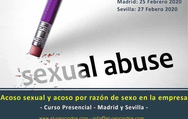 Curso: Acoso sexual y acoso por razón de sexo en la empresa