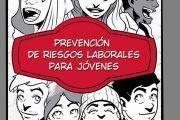 UGT edita un cómic para informar a las personas jóvenes de los riesgos en el trabajo