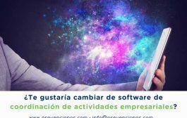 ¿Te gustaría cambiar de software de coordinación de actividades empresariales?
