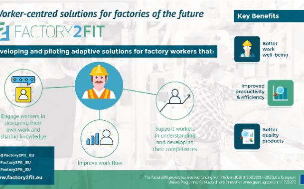 Una nuevo estudio convierte las fábricas en lugares de trabajo más atractivos