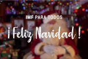 IMF Institución Académica te desea Feliz Navidad y próspero Año Nuevo