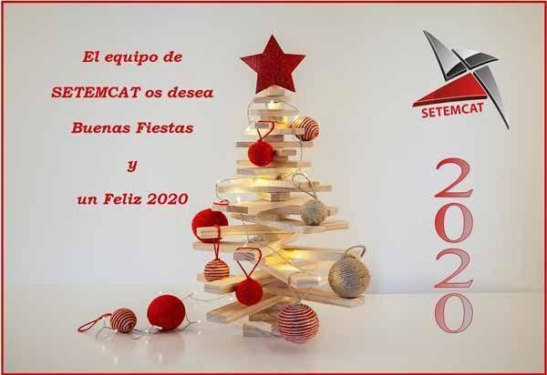 El equipo de SETEMCAT os desea Buenas Fiestas y un Feliz 2020