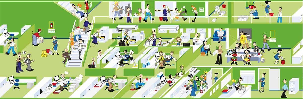 Cazadores de riesgos: oficinas
