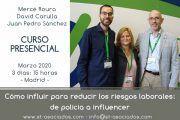 Curso: Cómo influir para reducir los riesgos laborales #Madrid (4-5-6 de Marzo)