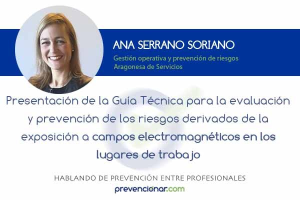 Presentación de la Guía Técnica para la evaluación y prevención de los riesgos derivados de la exposición a campos electromagnéticos en los lugares de trabajo
