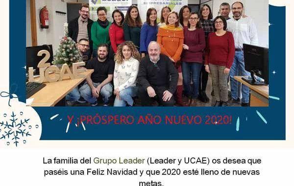 ¡Feliz Navidad! y ¡Próspero año nuevo 2020!