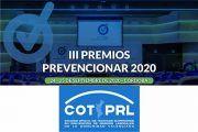 El Colegio Oficial de Técnicos Superiores en PRL de Valencia se suma a los Premios Prevencionar 2020