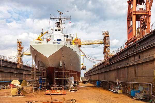CAE en tareas de mantenimiento y reparación en seco de los buques de pesca