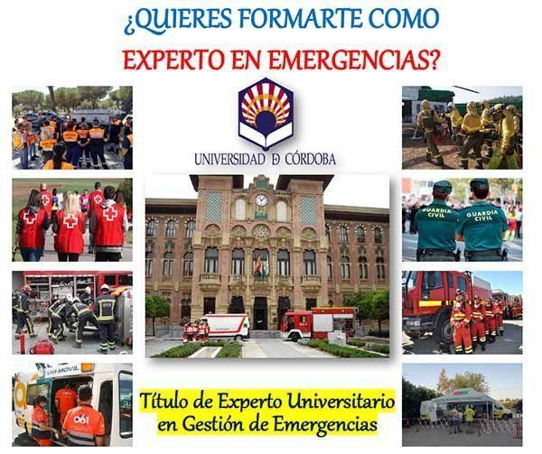 Título de experto universitario en gestión de emergencias