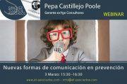Webinar: Nuevas formas de comunicación en prevención