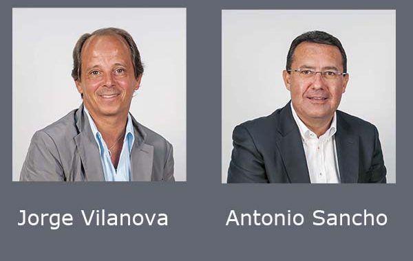Antonio Sancho y Jorge Vilanova, nombrados subdirector general corporativo y secretario general de Asepeyo