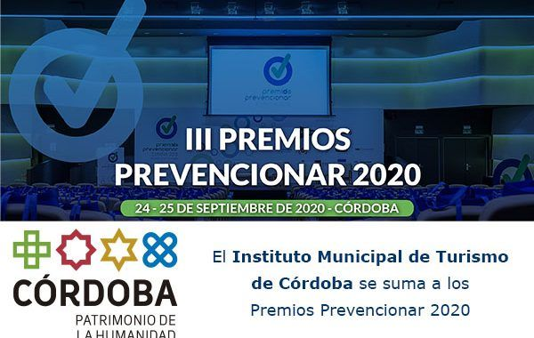 El Instituto Municipal de Turismo de Córdoba se suma a los Premios Prevencionar 2020