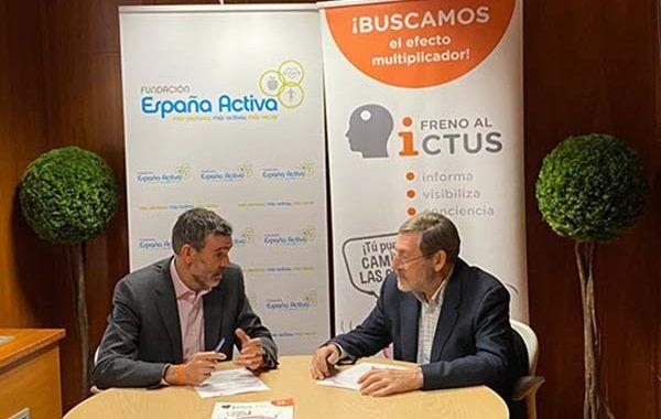 La Fundación España Activa y Freno al Ictus unen fuerzas para concienciar sobre el ictus