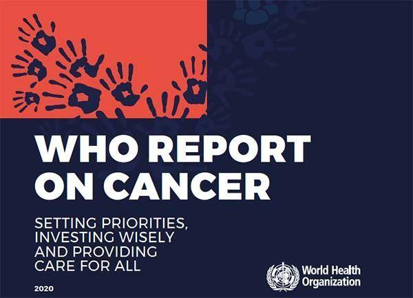 La OMS expone en líneas generales los pasos para evitar la muerte 7 millones de personas por cáncer