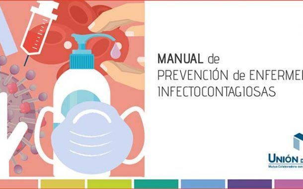 Unión de Mutuas lanza un guía para evitar la transmisión de enfermedades infectocontagiosas