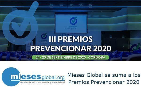 Mieses Global se suma a los Premios Prevencionar 2020