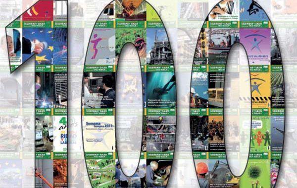 La revista Seguridad y Salud en el Trabajo del INSST alcanza los 100 números