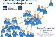 CURSO - Estrategias para influir en los trabajadores ¡¡últimas plazas!!