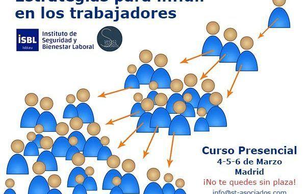 CURSO - Estrategias para influir en los trabajadores ¡¡ 2 últimas plazas!!