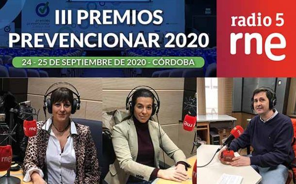 Los Premios Prevencionar en el Programa Alianza 2030 de RNE