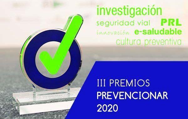 Programa Gala Premios Prevencionar #Córdoba 25 de Septiembre