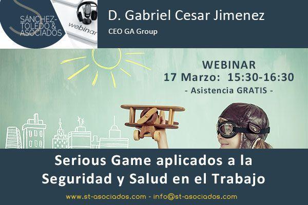 Webinar: Serious Game aplicados a la Seguridad y Salud en el Trabajo