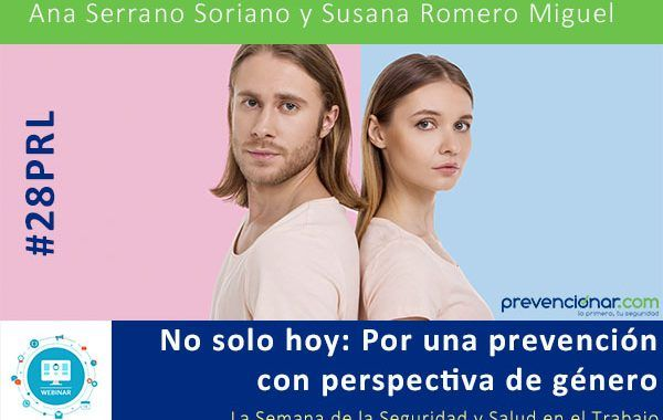No solo hoy: Por una prevención con perspectiva de género #28PRL #Webinar
