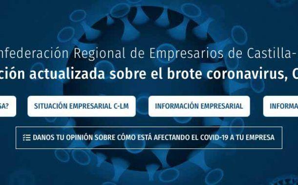 CECAM pone en marcha una web con información actualizada sobre el brote coronavirus, COVID-19