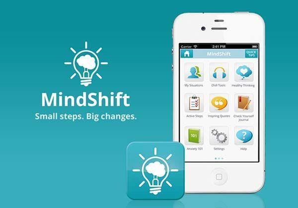 MindShift aplicación móvil que te ayudará a lidiar con el estrés y la ansiedad