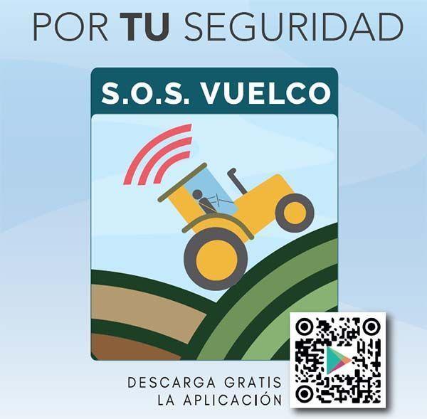 APP: S.O.S. Vuelco de maquinaria agroforestal