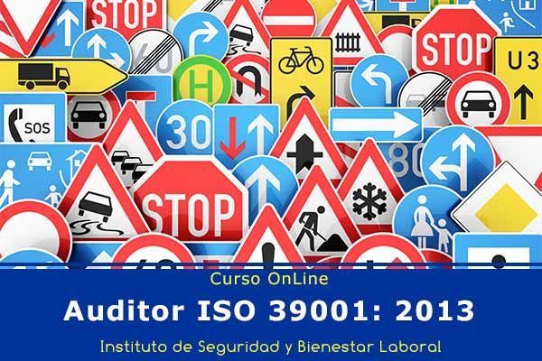 Curso OnLine: Auditor ISO 39001: 2013