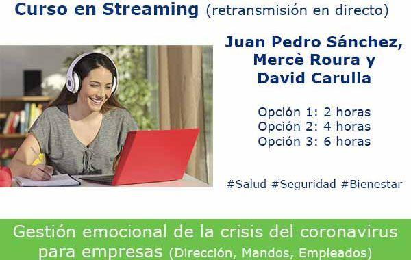 El curso que está revolucionando la gestión emocional del #COVID-19 en las organizaciones