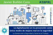 La digitalización en la prevención como único medio de mejora real en la seguridad #28PRL #webinar