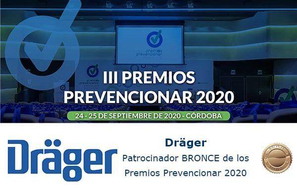 Dräger Patrocinador BRONCE de los Premios Prevencionar 2020