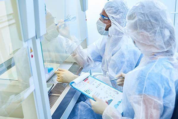 Exposición a agentes biológicos: equipos de protección individual